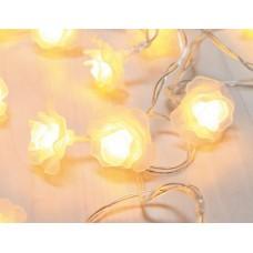 Instalatie 20 LED floare cu baterii Venuto 29952-20