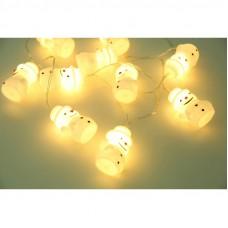 Instalatie 10 LED Baily cu baterii 165cm 29908-10