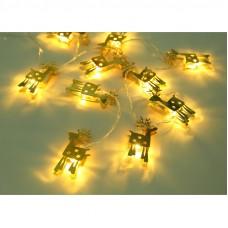 Instalatie 10 LED Baily cu baterii 165cm 29909-10